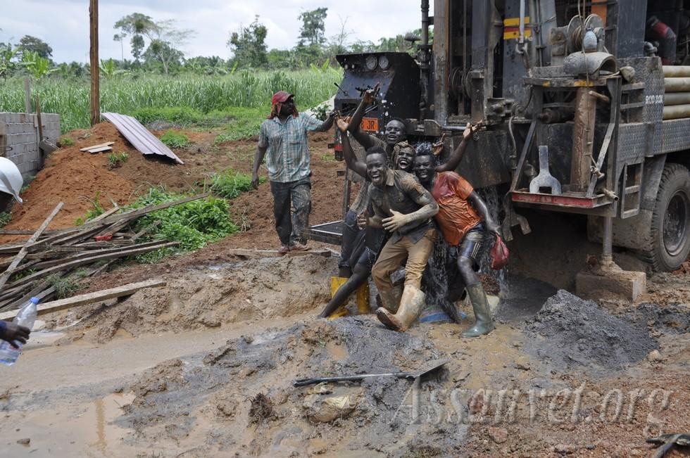 amélioreration  d'accès et de qualité des systèmes d'eau et d'assainissement.