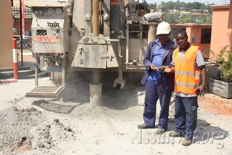 Construction d'un forage à Mifopra